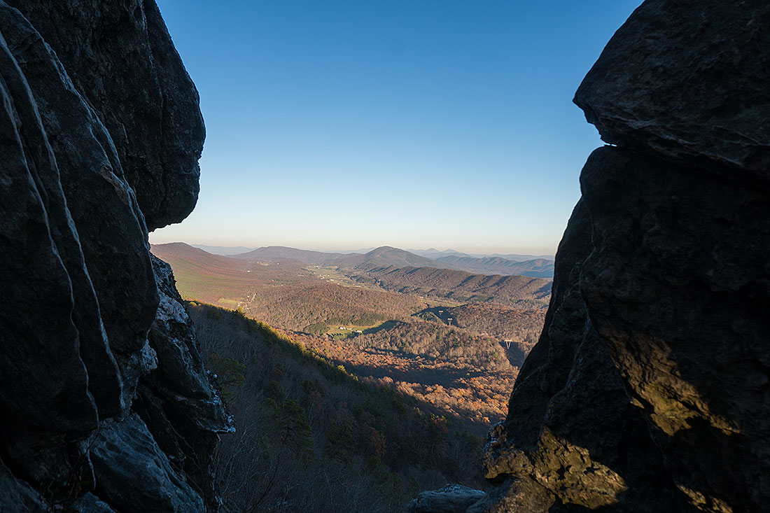 Hiking The Dragon's Tooth in West Virginia